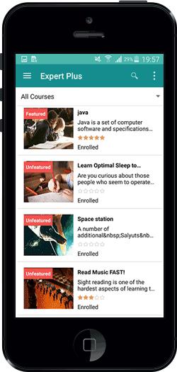 ExpertPlus - Udemy Clone Script | Mobile App